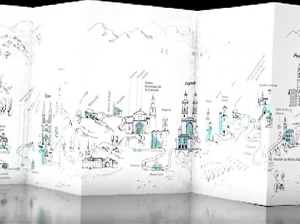 El Camino de Santiago unifica en un folleto la ruta por cinco Comunidades