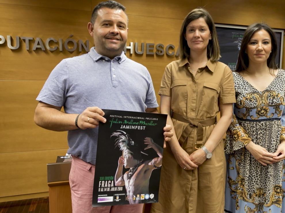 El Festival folclórico Jaminfest de Fraga se celebrará del 11 al 14 de julio