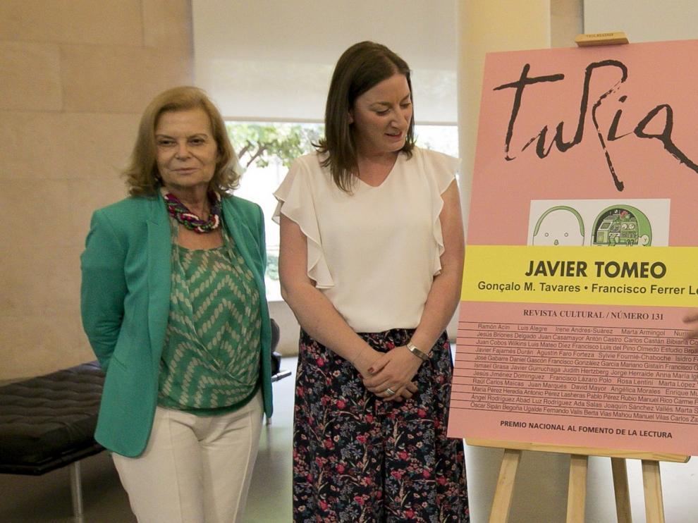 "La revista Turia homenajea a Javier Tomeo, ""un aragonés universal"""