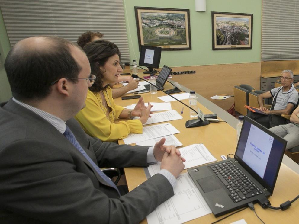 Nuevas caras en la junta de la Asociación de Comerciantes de Huesca