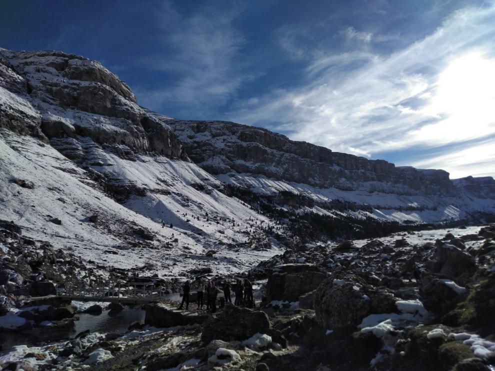 El Parque Nacional de Ordesa da un paso más en la ejecución de sus proyectos