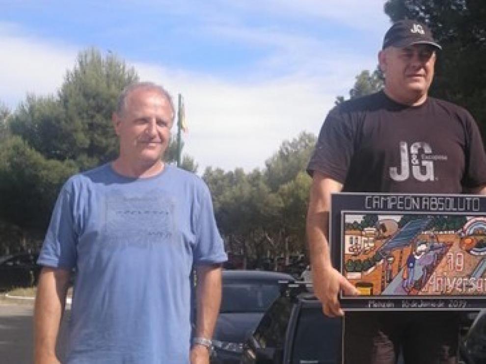 Alberto Naval gana la Tirada 70 Aniversario en Monzón