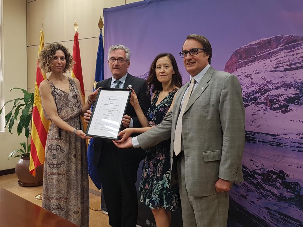 Las actividades de Sarga por el Centenario de Ordesa reciben la certificación de eventos sostenibles