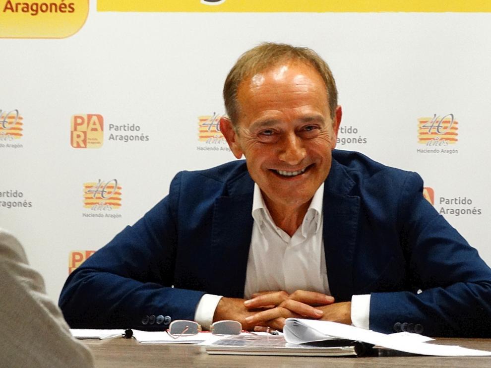 El PAR propone a Joaquín Serrano, Roque Vicente y Francisco Aísa como diputados en la Diputación de Huesca