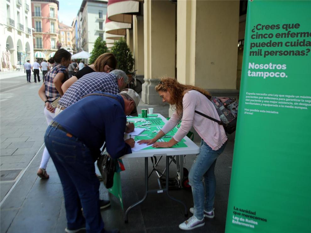 La provincia de Huesca cuenta con 4 enfermeras por cada mil pacientes