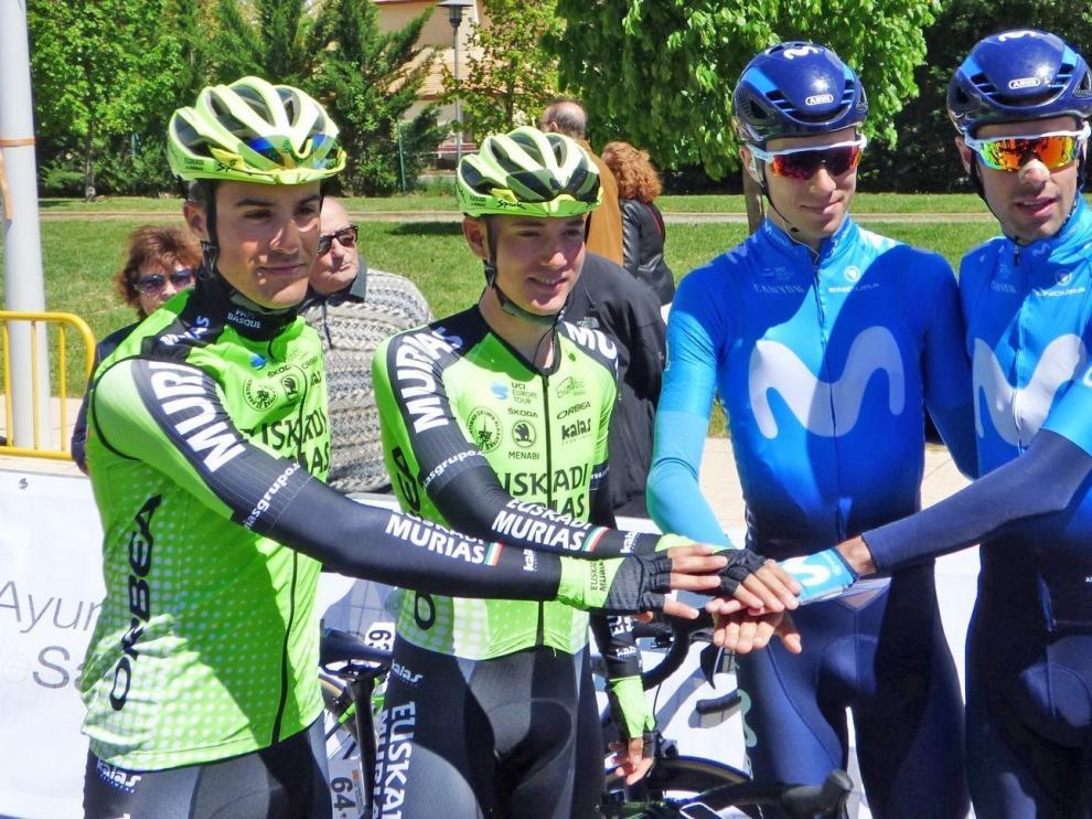 """Arcas, Castrillo, Barceló y Samitier disputan desde este jueves hasta el domingo una montañosa Route d""""Occitanie"""