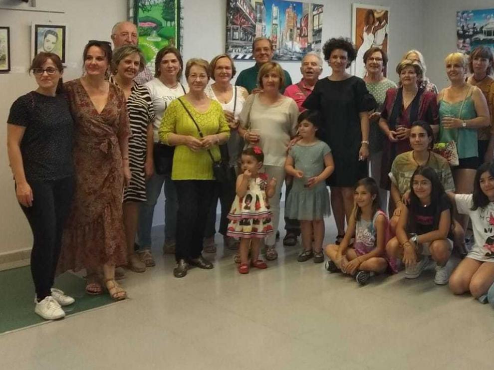 Los alumnos de Marian Ruiz exponen en el Centro Benito Moliner