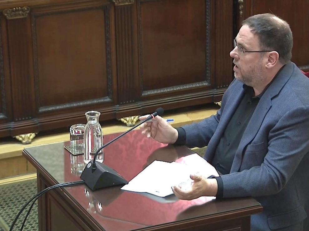 La Fiscalía se opone a que el Supremo pregunte a Luxemburgo sobre la inmunidad de Junqueras