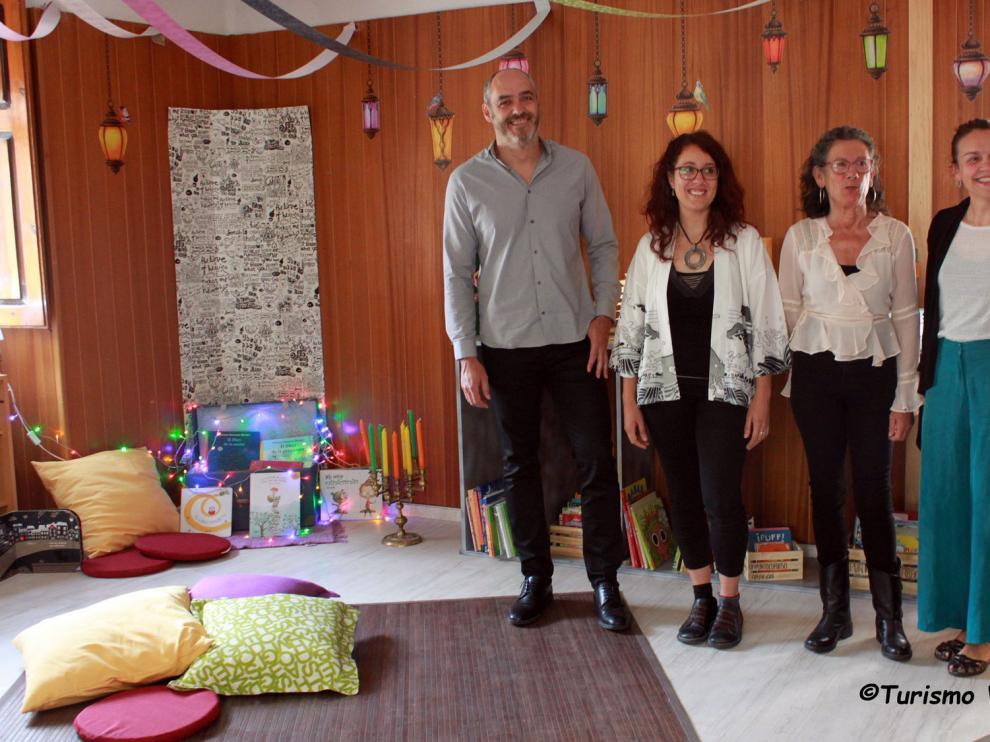"""""""La Casa de los Cuentos"""" de Villanúa nace para acercar a los más pequeños y sus familias a la cultura"""
