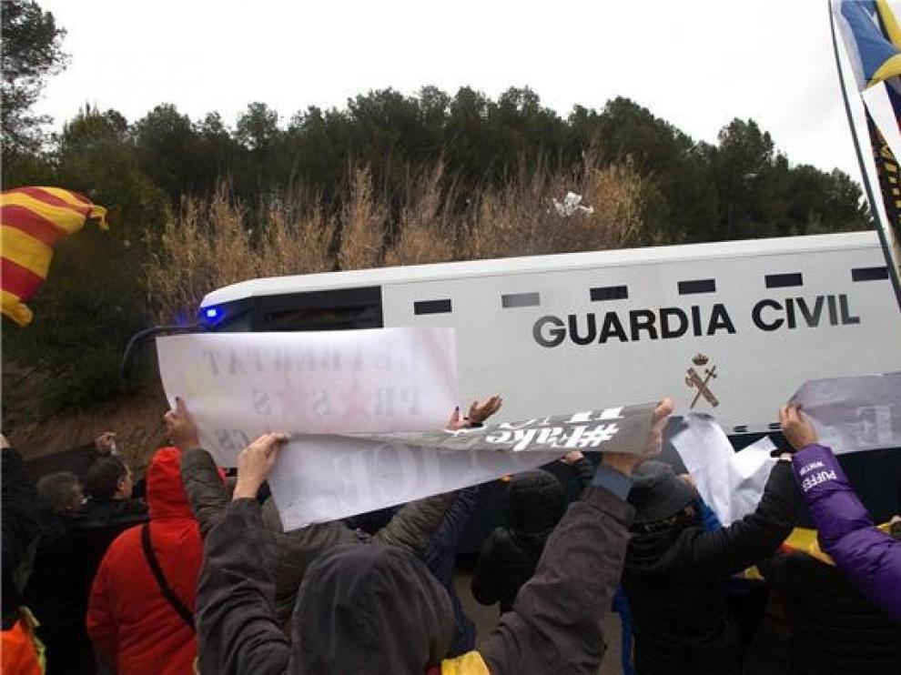 """El Tribunal Supremo no se opondrá al traslado de los presos del """"procés"""" a cárceles catalanas"""