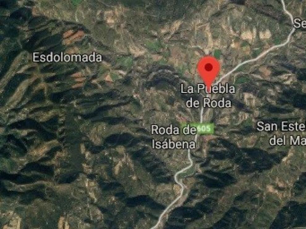 Herido grave un senderista alemán en La Puebla de Roda