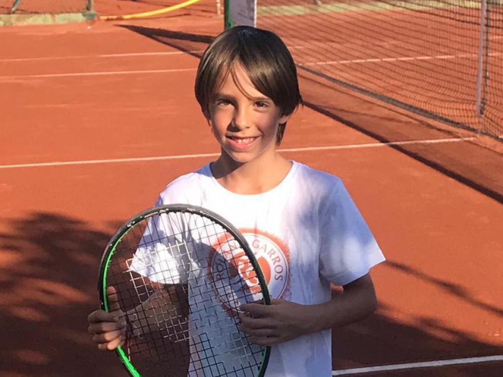 El oscense Gonzalo Corrales gana el Trofeo Aniversario del Club Tenis Urgell
