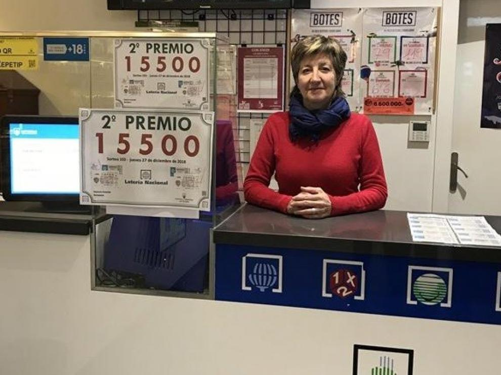 San Ramón lleva la suerte a Barbastro y deja 58.754 euros de la Primitiva