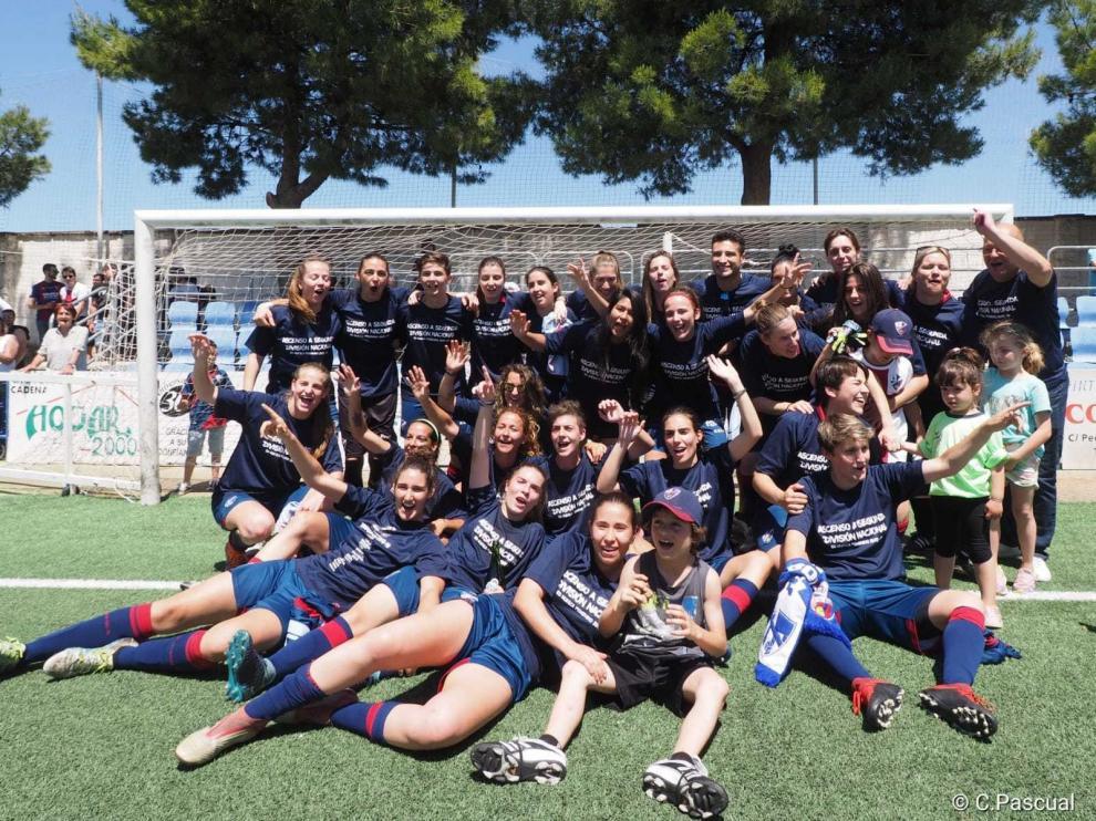 El Huesca tendrá continuidad en el equipo femenino