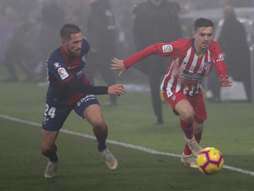El joven extremo Joaquín Muñoz se une al Huesca procedente del Atlético de Madrid