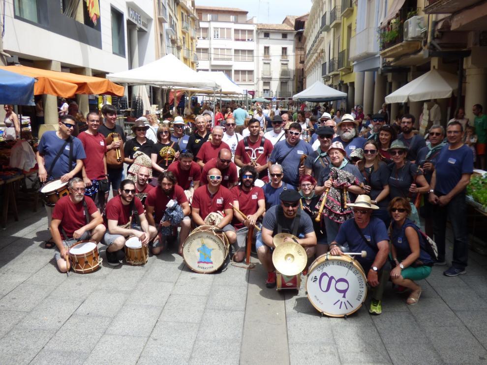 """La Asociación de Gaiters d""""o Semontano de Balbastro celebra a todo ritmo su 20 aniversario"""