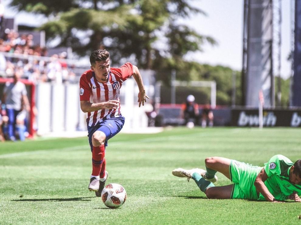 El Huesca se garantiza una opción de compra con Joaquín Muñoz