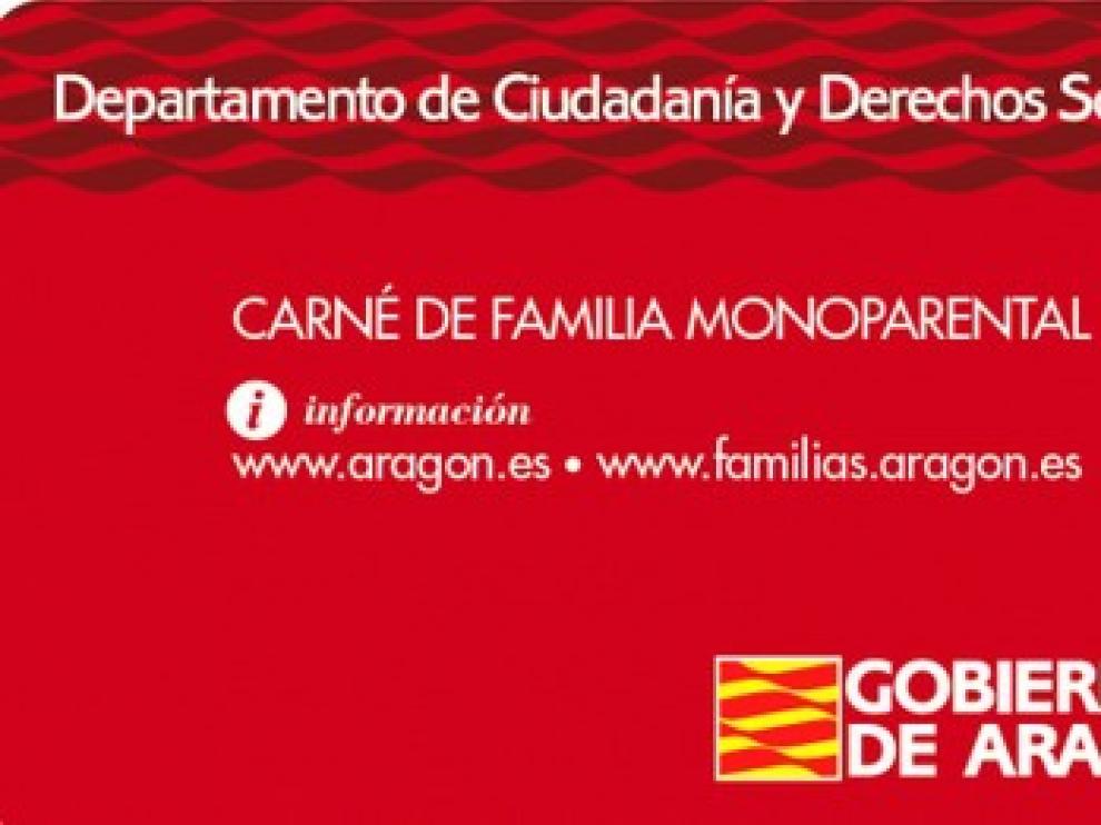 Aragón tramita 339 solicitudes de carné monoparental en menos de dos meses