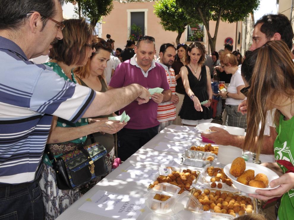 El restaurante Cobarcho gana el segundo concurso de croquetas de Jaca