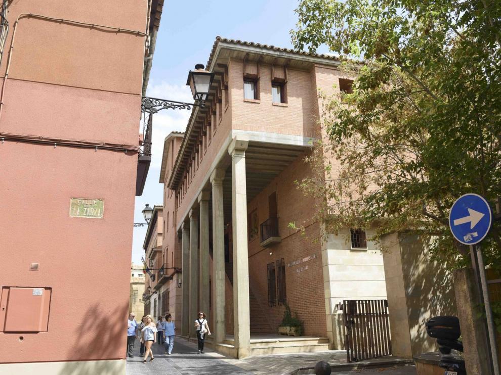 Mejora de accesibilidad en el Colegio Mayor y Ciencias de la Salud del Campus de Huesca