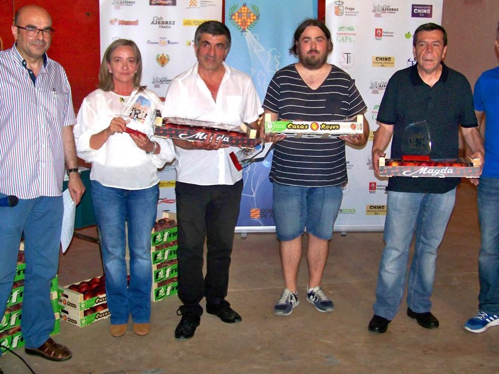 Adrián Villuendas da la sorpresa y gana el Open Ciudad de Fraga
