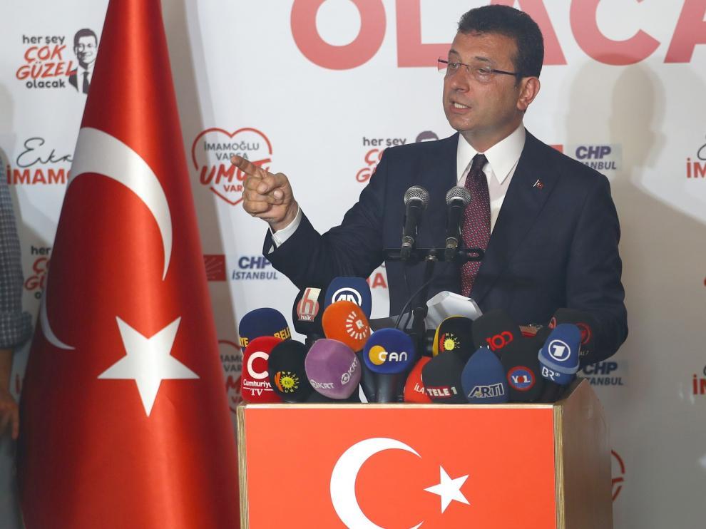 Ekrem Imamoglu pasa a ser el nuevo alcalde de Estambul