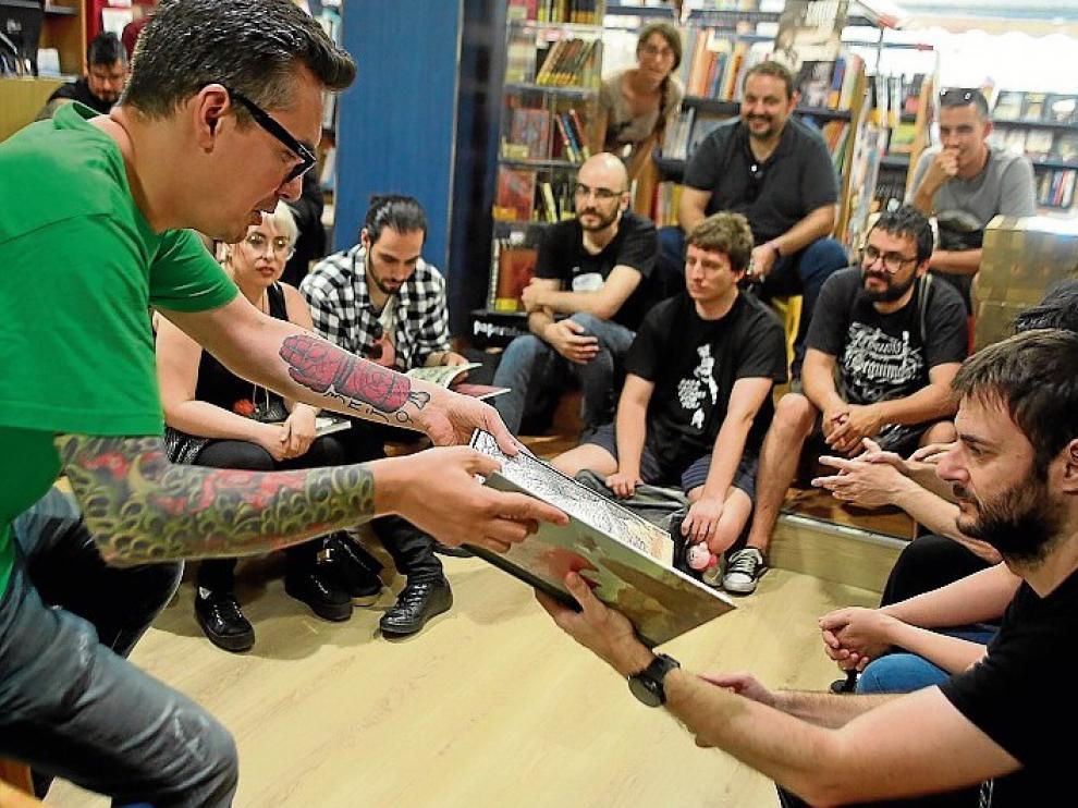 Javier Marquina propone un verano entre cómics
