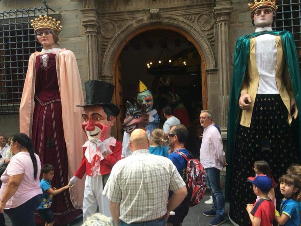 Jaca vive el martes su día grande con la procesión de Santa Orosia