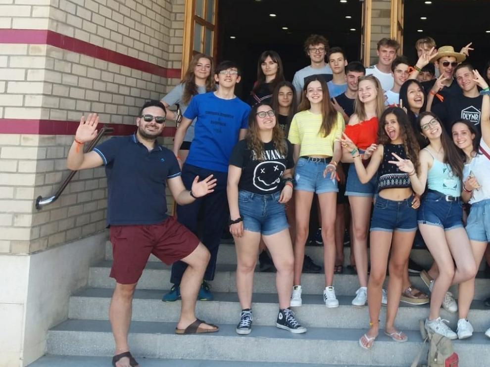 Jóvenes italianos llegan al Bajo Cinca a participar en un proyecto Erasmus+