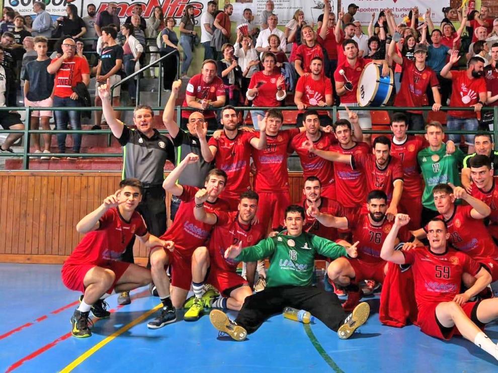 Huesca B, Malo y Broto, premiados por la Federación Aragonesa