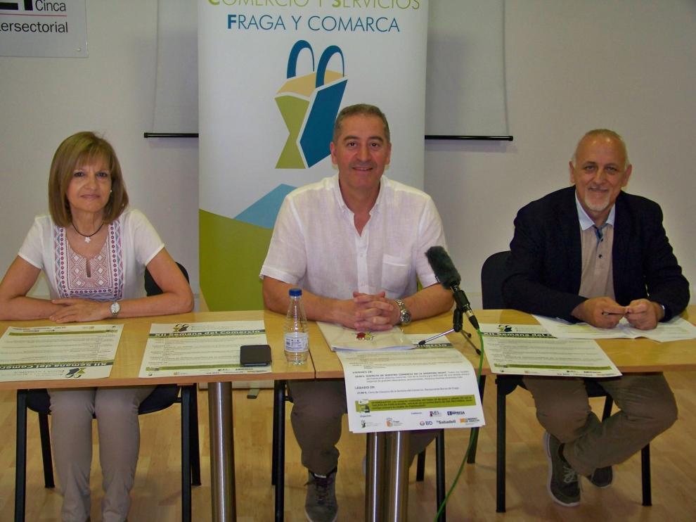 Fraga celebra la semana dedicada al comercio local