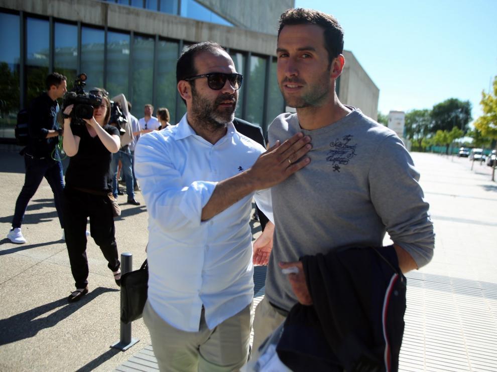 Íñigo López declaró al juez que no hubo amaño en el Huesca-Nàstic