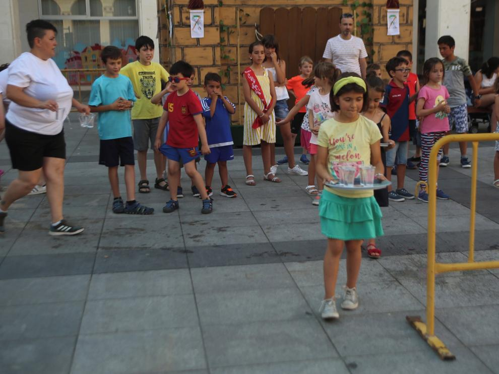 Diversión infantil en las fiestas del Casco Antiguo
