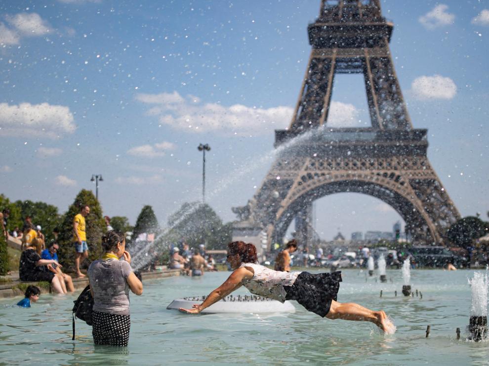 Parte de Europa sufre ya la ola de calor, que irá a más en los próximos días