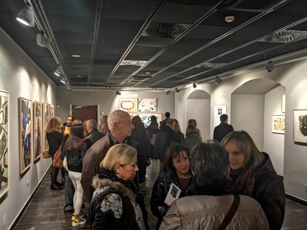 Cerca de 10.000 personas han visitado las exposiciones de la Fundación Caja Rural de Aragón