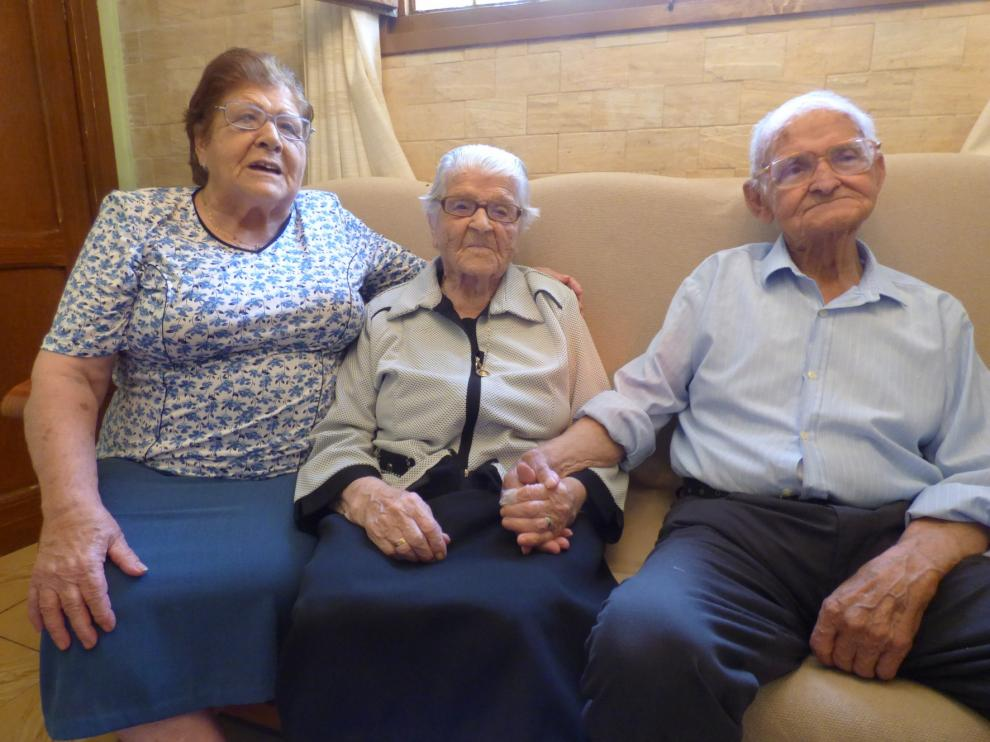 Lucía Lacoma, la tatarabuela del Somontano y abuela de la provincia, cumple 108 años