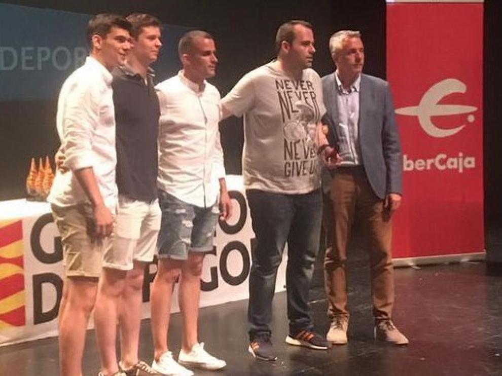 El BM. Huesca recoge varios premios en la Gala aragonesa