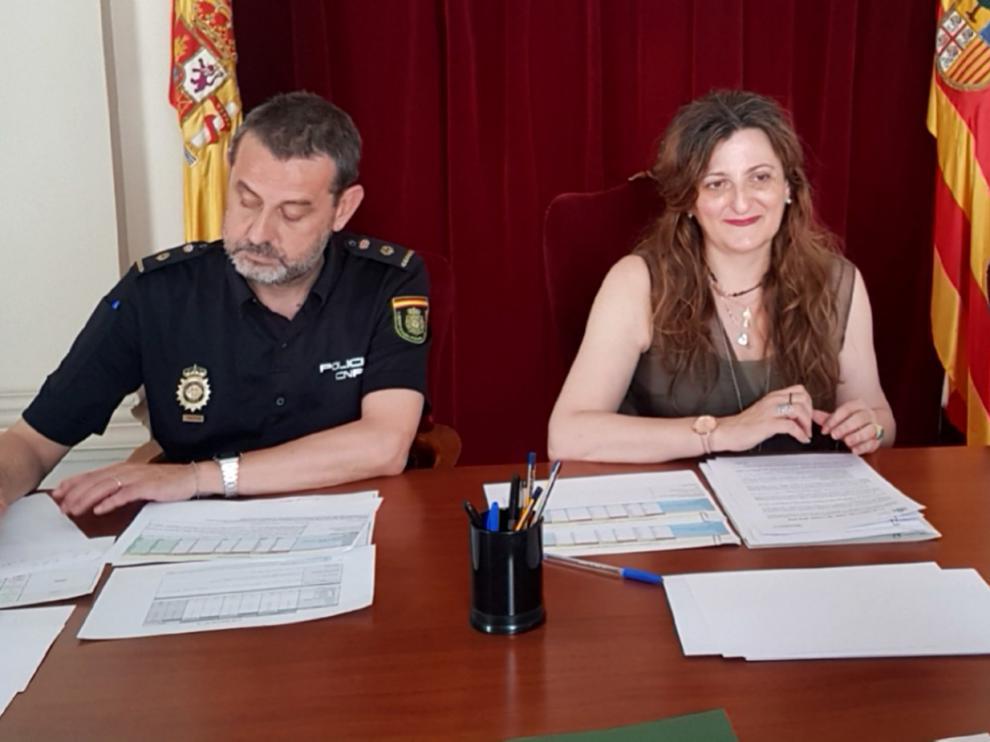 Reunión para evaluar el Plan Director 2018/2019 para la convivencia y mejora de la seguridad escolar en la provincia de Huesca
