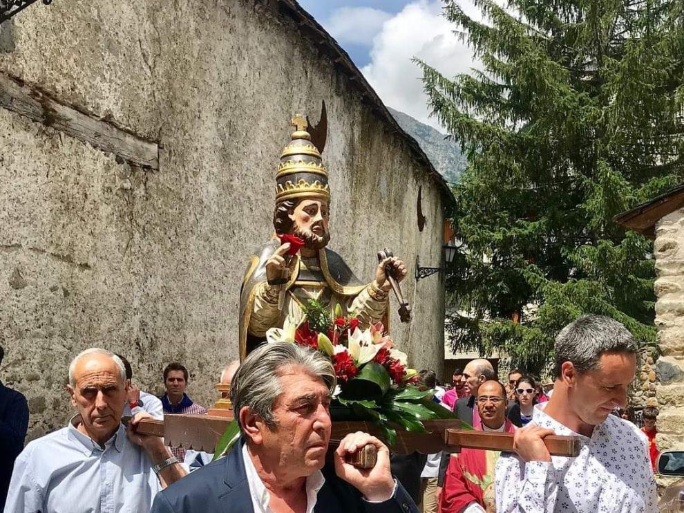 Tradición y folclore en unos festejos con actos para todos en Benasque