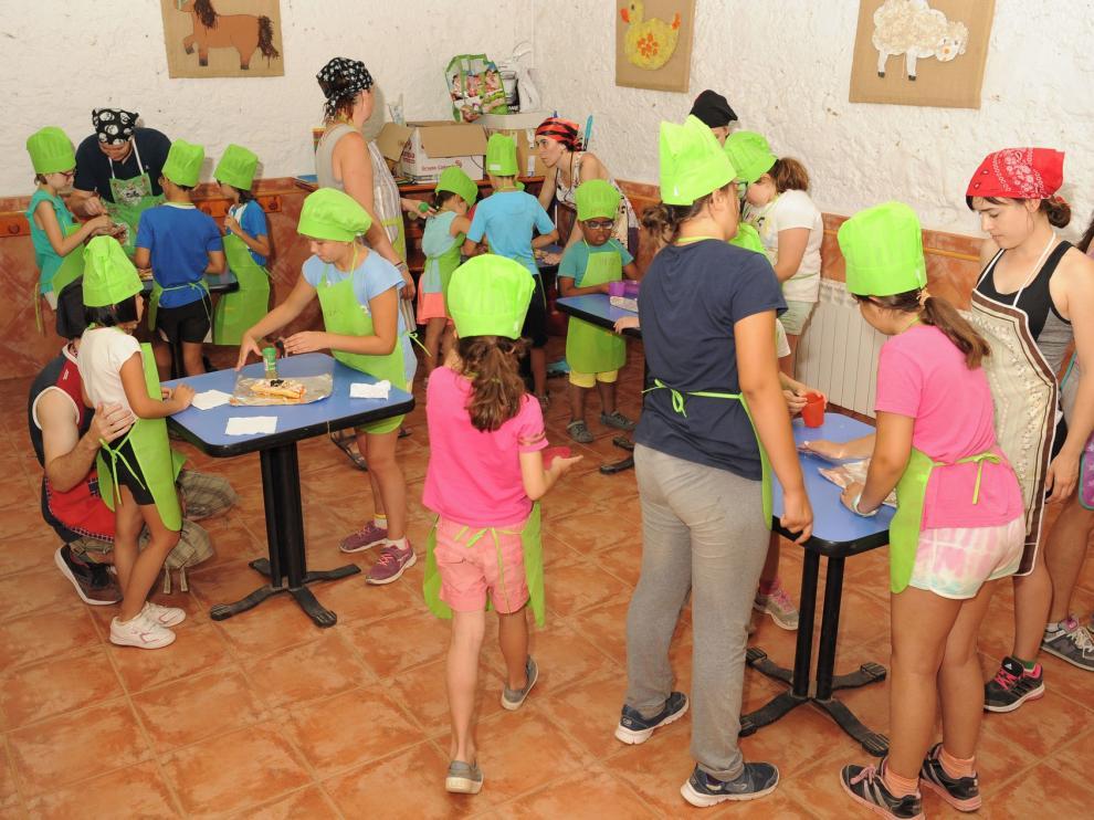 Cincuenta chavales disfrutarán de un campamento de la Once en Jaca