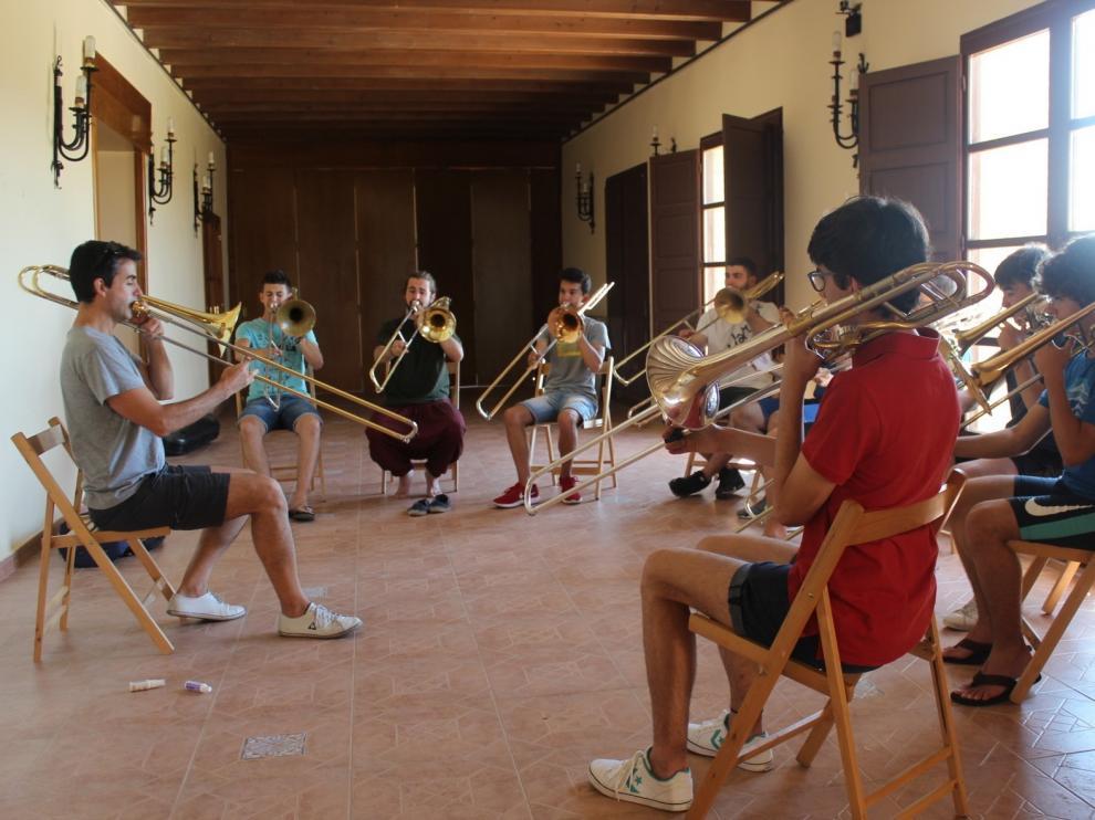 El IX Curso de Trompeta y Trombón se celebrará en Leciñena del 1 al 6 de julio