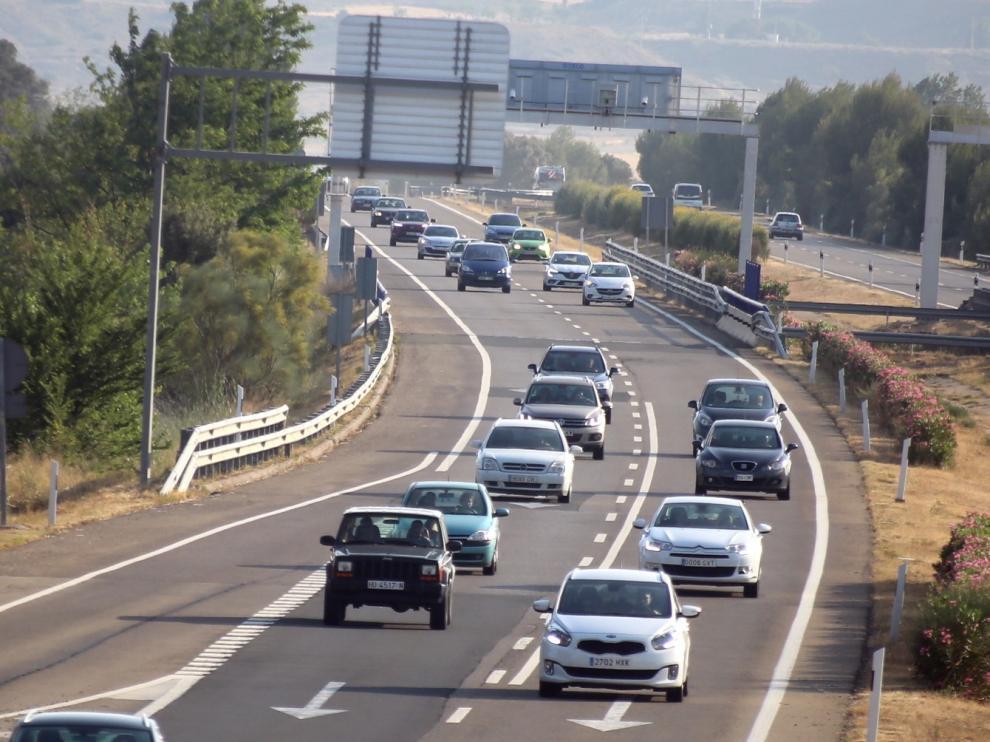 Tráfico fluido en el arranque de la operación salida de julio en la provincia de Huesca