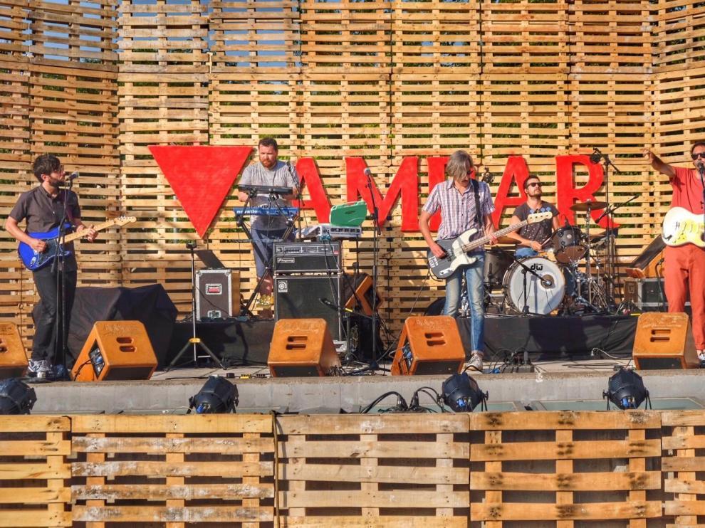 El Polifonik Sound sube el telón con éxito de público y nuevo escenario en Barbastro