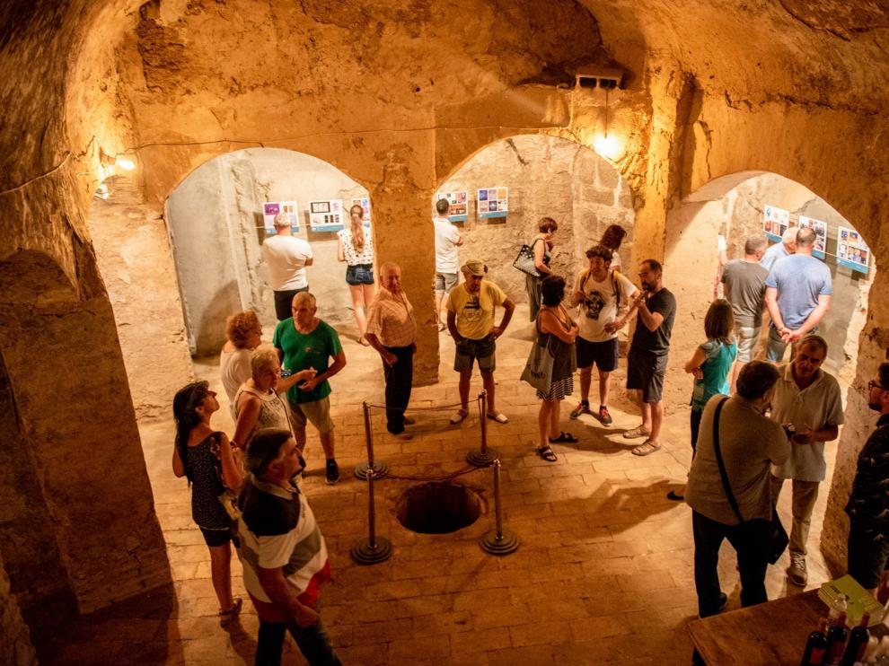 Belver de Cinca se reencuentra con su patrimonio cultural a través de la muestra 'Estoesloquehay'