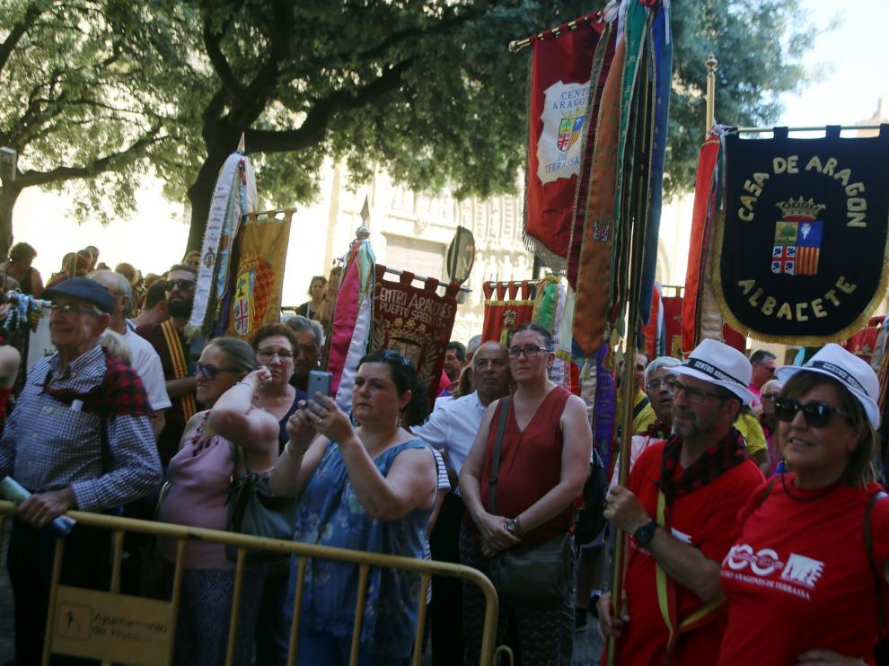 """El Encuentro de Comunidades Aragonesas del Exterior, una oportunidad para """"revivir lo que somos"""" en Huesca"""