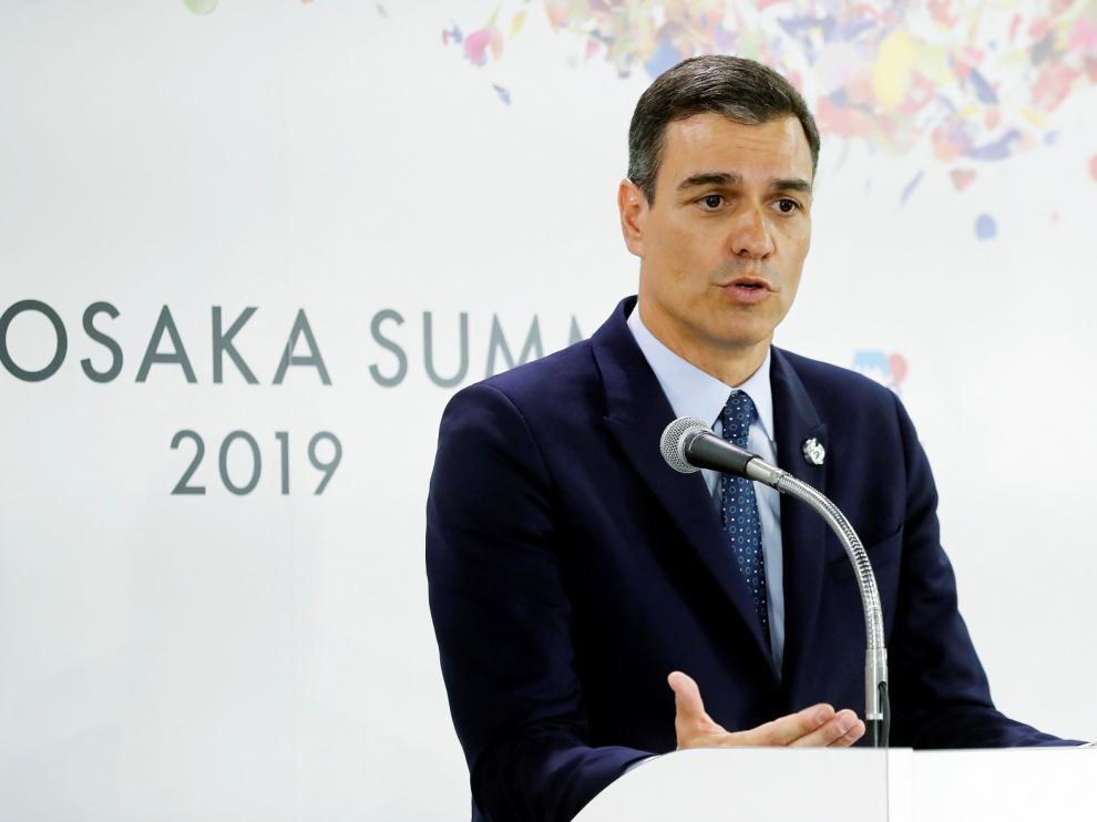 """""""España necesita un Gobierno en julio"""", según Pedro Sánchez"""