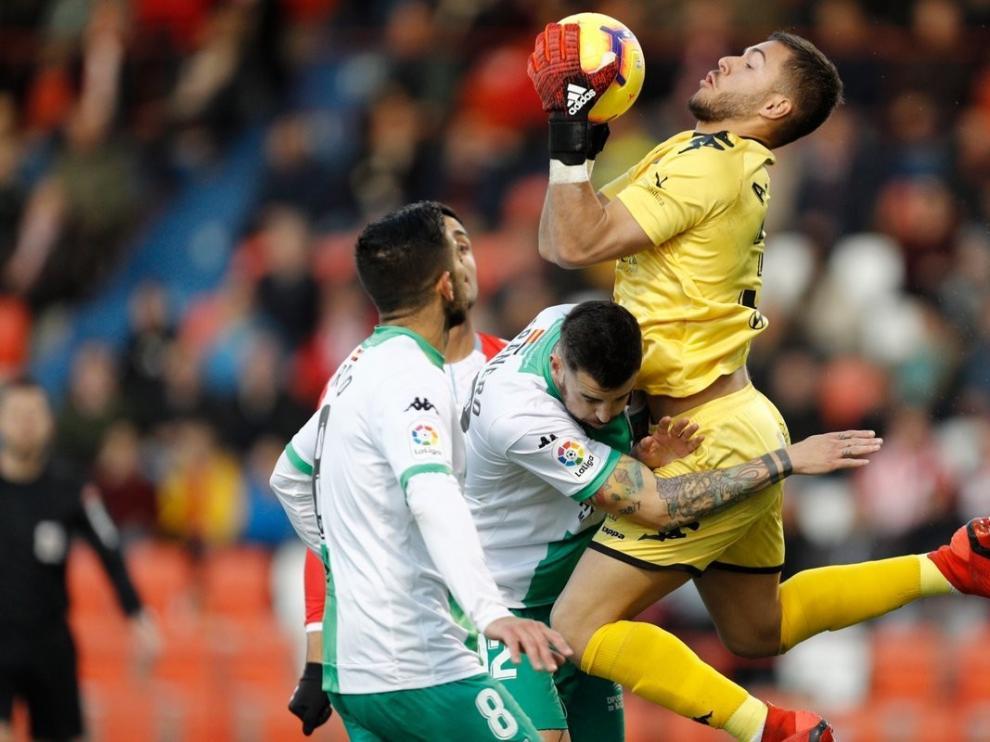"""Roberto Vilas: """"Álvaro es uno de los porteros con más proyección del fútbol español"""""""