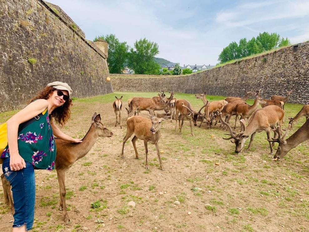 Una turista de excepción