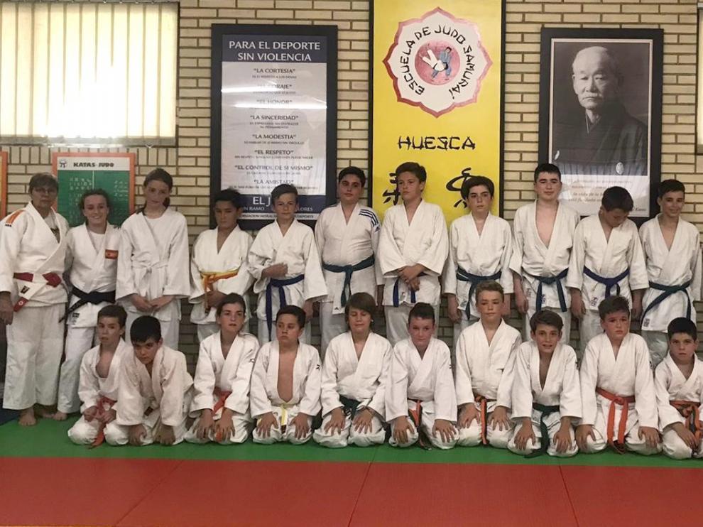 Exhibición de fin de curso de Escuela Samurai y San Viator