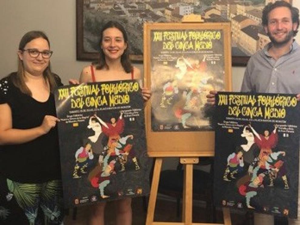 Canarios y montisonenses compartirán escenario en el Festival Folclórico de Monzón